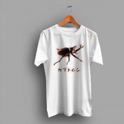 Bugs Insect Allomyrina Dichotoma Japanese Rhinoceros Beetle Geek T Shirt