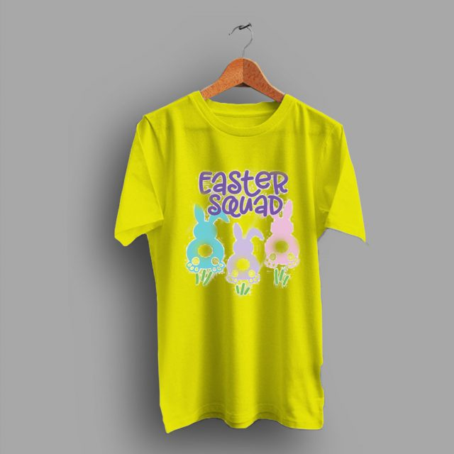 Bunny Rabbit Butts Easter Squad Family T Shirt