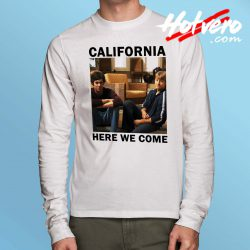 California Here We Come Old Long Sleeve Shirt