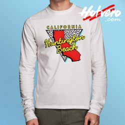 California Huntington Beach Long Sleeve T Shirt