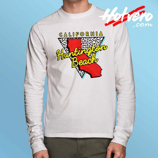 California Huntington Beach Long Sleeve T Shirt