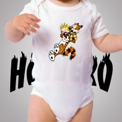 Calvin Hobbes Shock Baby Onesie