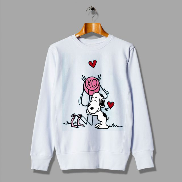 Can Be Found Funny Mr A Loves Snoopy Sweatshirt