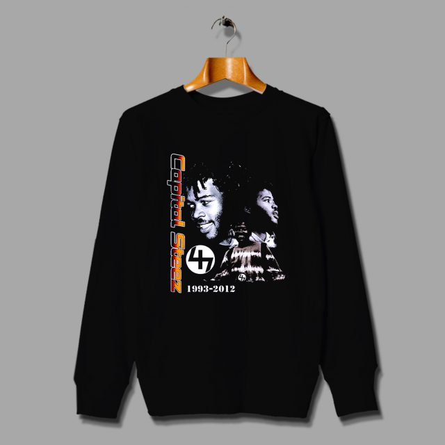 Capital Steez In Memory 90 Hip Hop Sweatshirt