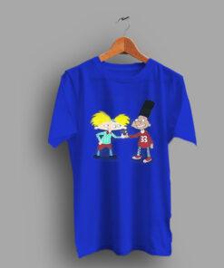 Cartoon 90s Kids Hey Arnold Classic T Shirt