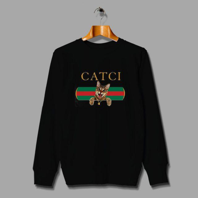 Catci Gucci Mane Parody Unisex Sweatshirt