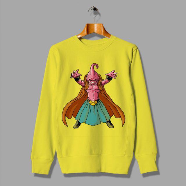 Character of The Strongest Blue Kid Buu Sweatshirt