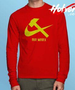 Cheap Air Karl Marx Long Sleeve Shirt
