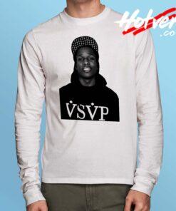 Cheap Asap Rocky VSVP Long Sleeve Shirt