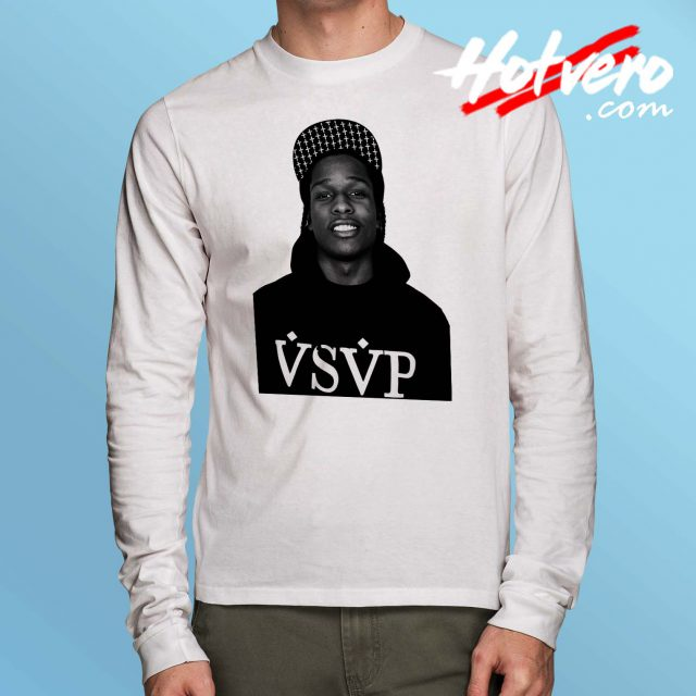 Cheap Asap Rocky VSVP Long Sleeve Shirt