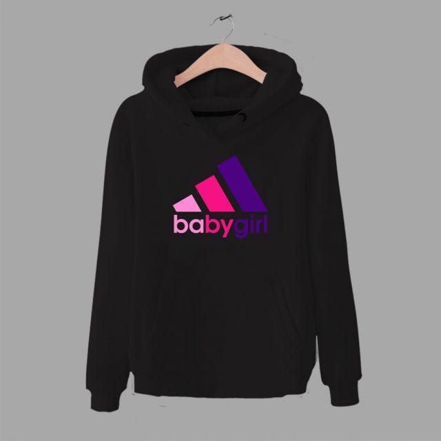Cheap Babygirl Adidas Parody Inspired Hoodie