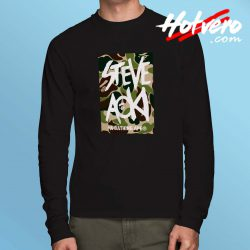 Cheap Bape Steve Aoki Long Sleeve Shirt