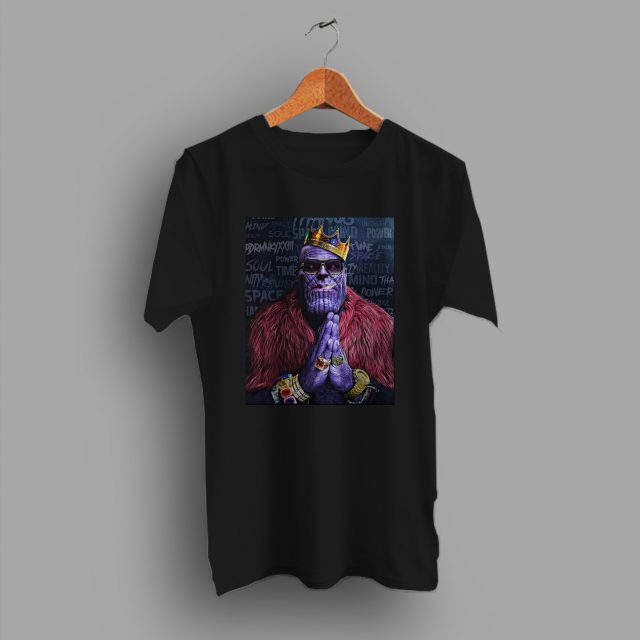 Cheap Big Biggie Notorious Thanos Marvel T Shirt