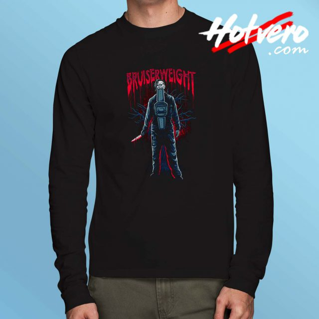 Cheap Bruiserweight Horror Long Sleeve Shirt