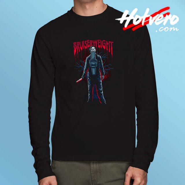 Cheap Bruiserweight Horror Long Sleeve Shirt