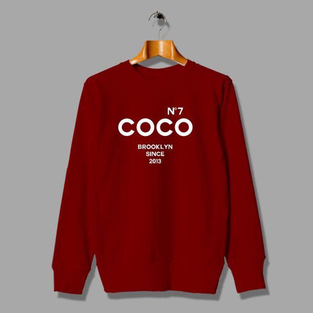 Cheap COCO No 7 Brooklyn Inspired Sweatshirt