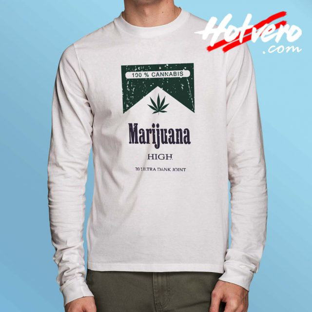Cheap Cannabis Marijuana Long Sleeve Shirt