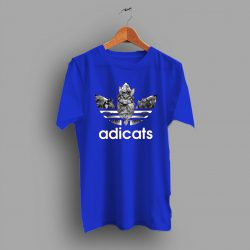 Cheap Cat Adicat Adidas Inspired T Shirt