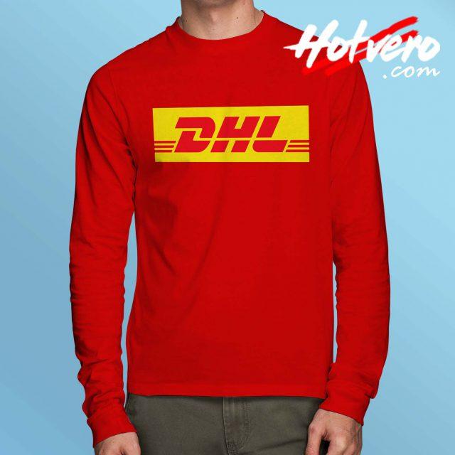 Cheap DHL Express Vintage Long Sleeve Shirt