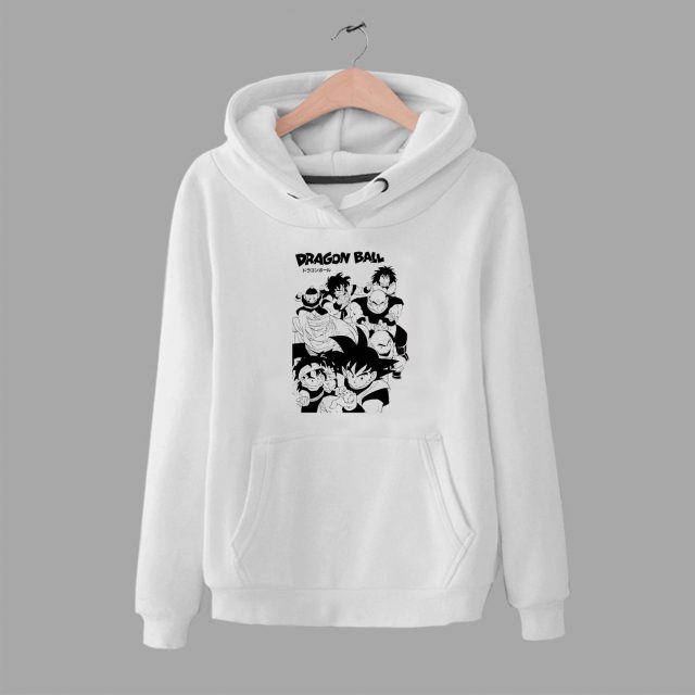Cheap Dragon Ball Squad Custom Unisex Hoodie