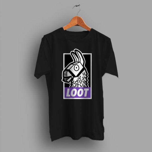 Cheap Fortnite Loot Llamas Game T Shirt