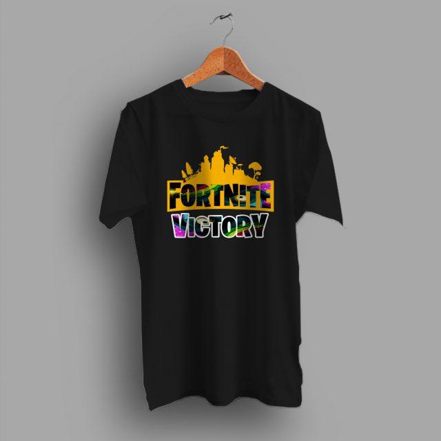 Cheap Fortnite Victory Game T Shirt