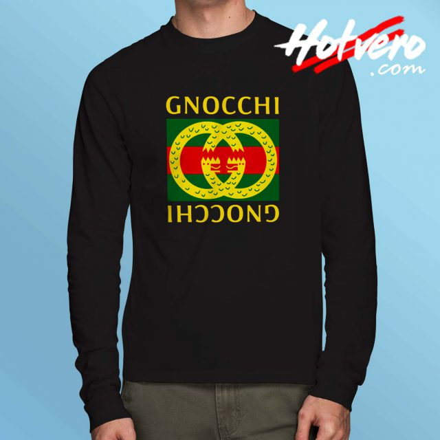 Cheap Gnocchi GC Parody Long Sleeve T Shirt
