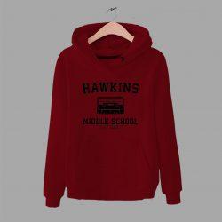 Cheap Hawkins Middle School Unisex Hoodie