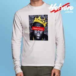 Cheap Notorious Big Biggie Hip Hop Long Sleeve Shirt