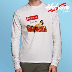 Cheap Supreme Featuring Vampirella Long Sleeve Shirt
