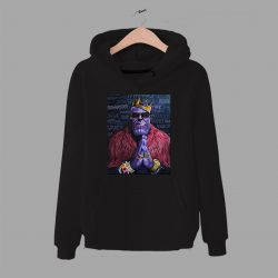 Cheap Thanos Big Biggie Notorious Parody Hoodie