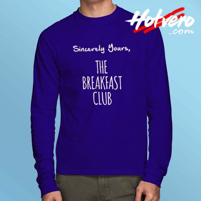 Cheap The Breakfast Club Long Sleeve Shirt