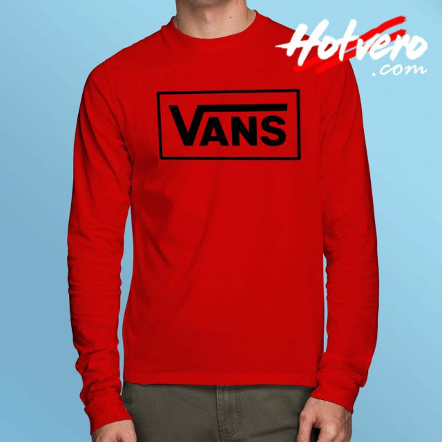 Cheap Vans Off Symbol Long Sleeve Shirt