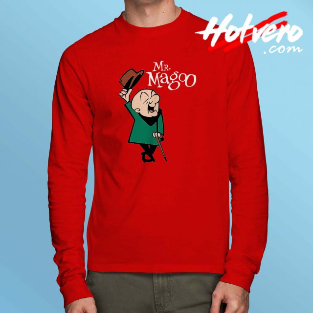 Cheap Vintage Mr Magoo Long Sleeve Shirt