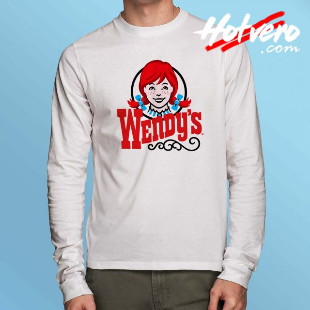 Cheap Wendys Burger Long Sleeve Shirt