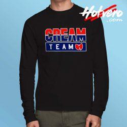 Cheap Wu Tang Clan Cream Team Long Sleeve Shirt