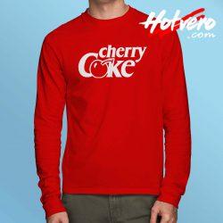 Cherry Coke Coca Cola Long Sleeve T Shirt