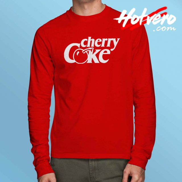 Cherry Coke Coca Cola Long Sleeve T Shirt