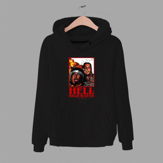 City Morgue Hell Or High Water Unisex Hoodie Hip Hop Group