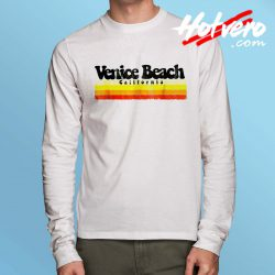 Classic Venice Beach California Long Sleeve T Shirt