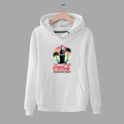 Coca Cola Spring Beach Its Real Things Hoodie