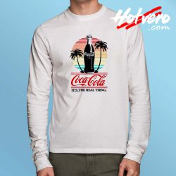 Coca Cola Spring Beach Long Sleeve T Shirt