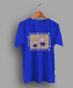 Cool Cute Peppa Pig Gucci Funny T Shirt