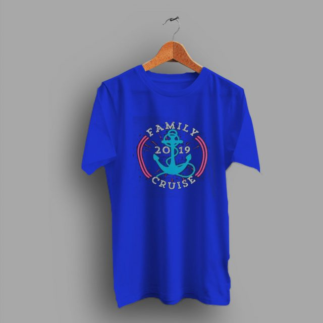 Cool Vacation Family Cruise 2019 T Shirt