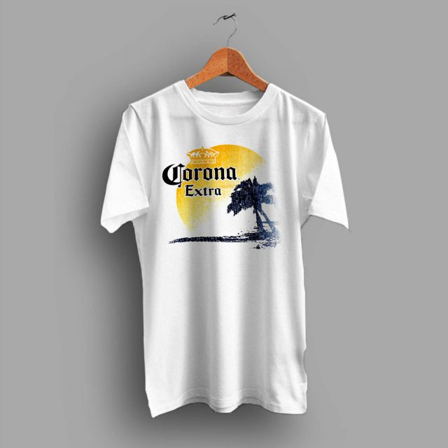 Corona Extra Beer Palm Beach Summer T Shirt