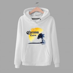 Corona Extra Beer Palm Beach Unisex Hoodie