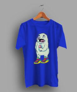 Creepy Cute Monster Retro T Shirt