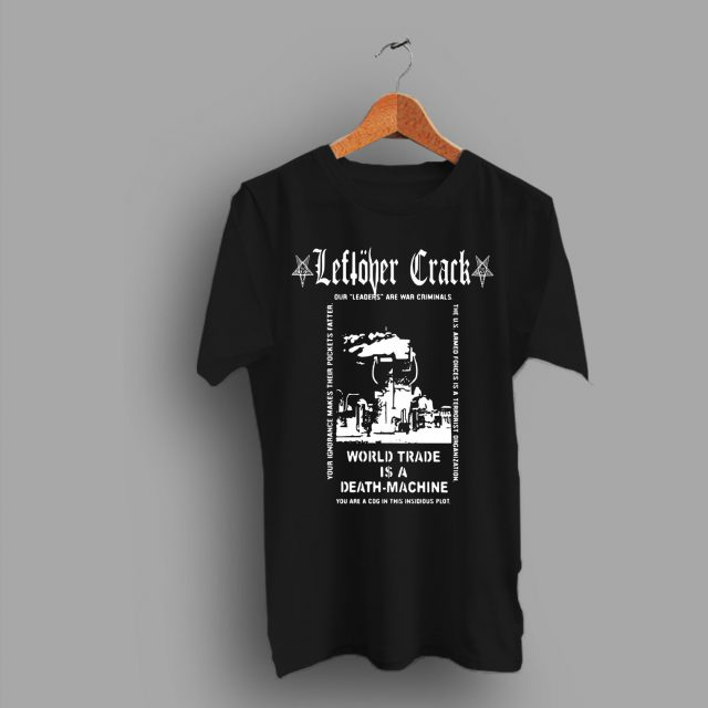 Crust Punk Citizen Fish Star Hipsters Leftover Crack T Shirt