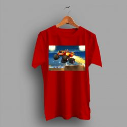 Custom Topper Measures Blaze Monster Machine Game T Shirt