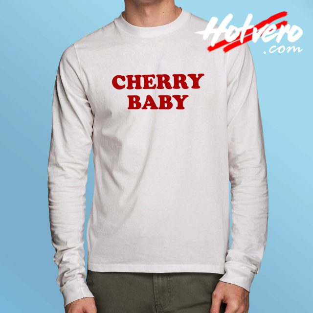 Cute Cherry Baby Long Sleeve T Shirt